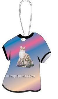 Bengal Cat T-shirt Zipper Pull