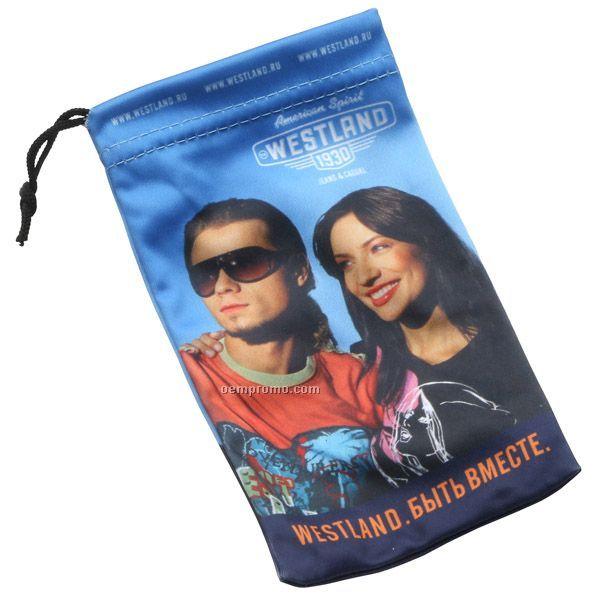 Large Custom Microfiber Gadget Bag
