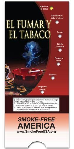Spanish Smoking & Tobacco Pocket Slider Chart/ Brochure