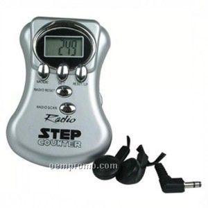 Contour Radio Step Counter Pedometer