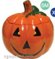 """Jack-o-lantern Specialty Cookie Keeper - 7"""" Diameter"""