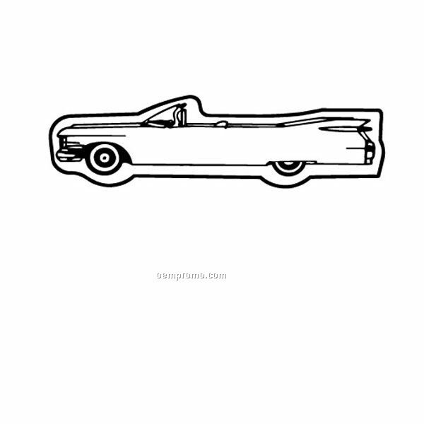 "Stock Shape Cadillac Classic Recycled Magnet (1""X3 1/2"")"