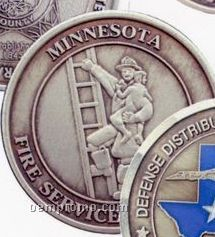 """1-15/16"""" 10 Gauge Nickel Silver Coins & Medallions"""