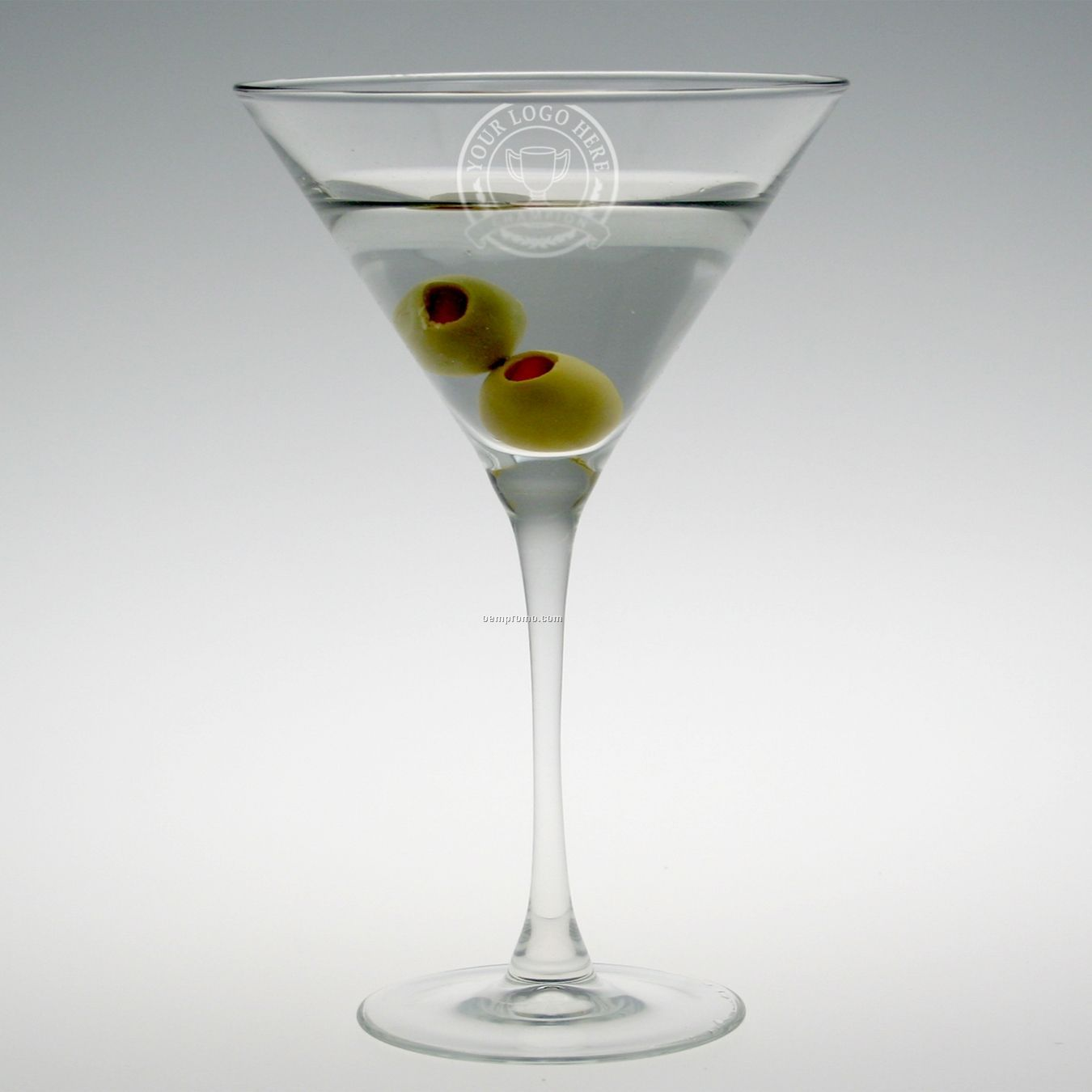 10 Oz. Selection Martini Glass (Set Of 4 - Deep Etch)