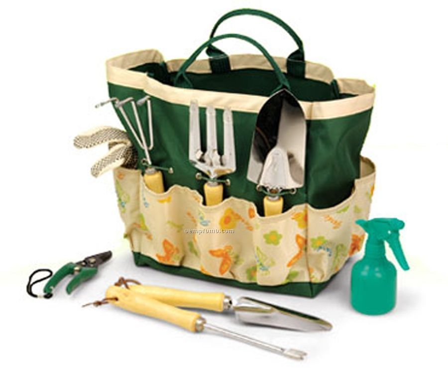 Ordinaire 8 Piece Garden Tool Set With Bag