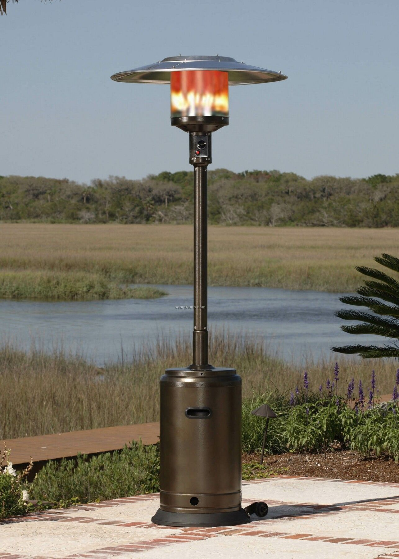 100 Charmglow Patio Heater Copper Gas Wall