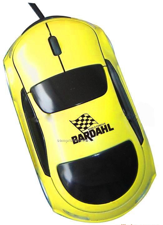 Full Size Sports Car Shape Optical Mouse