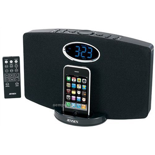 Jensen Jims211i Docking Digital Music System For Ipod And Iphone