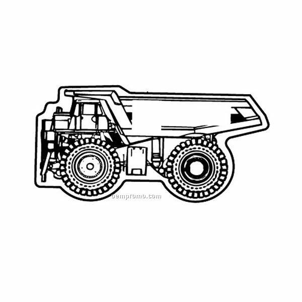 Stock Shape Miner Dump Truck Recycled Magnet