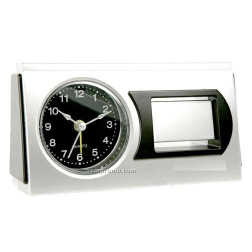 Desktop Alarm Clock With Round Face