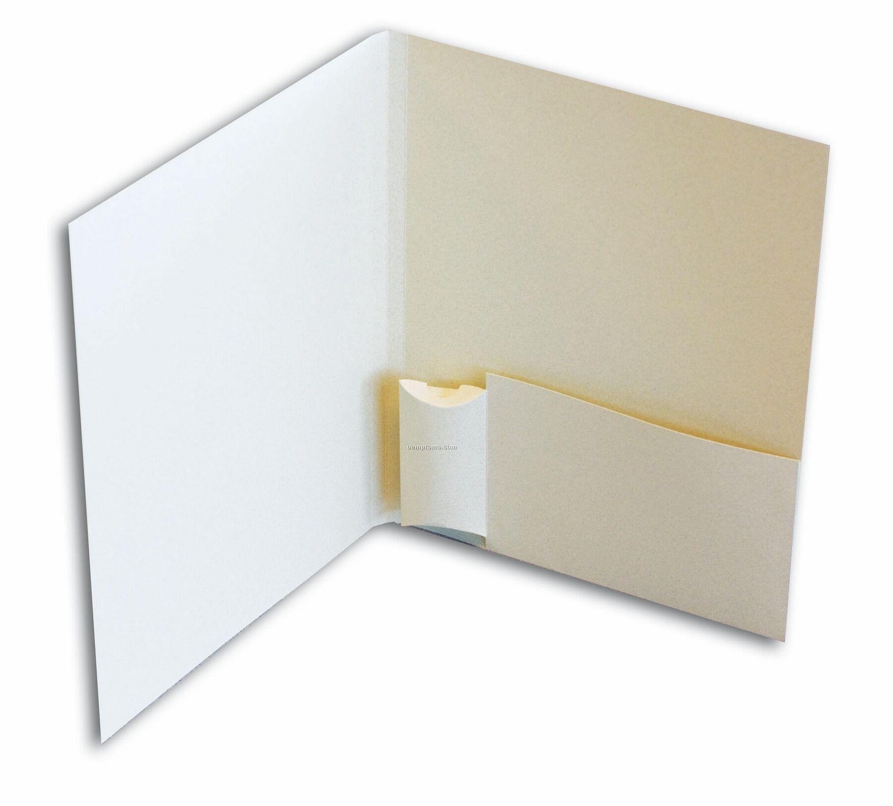 Flash Drive Folder (Printed 1 Color/1 Side)
