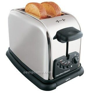Hamilton Beach Long Slot Keep Warm, 2 Slice Toaster