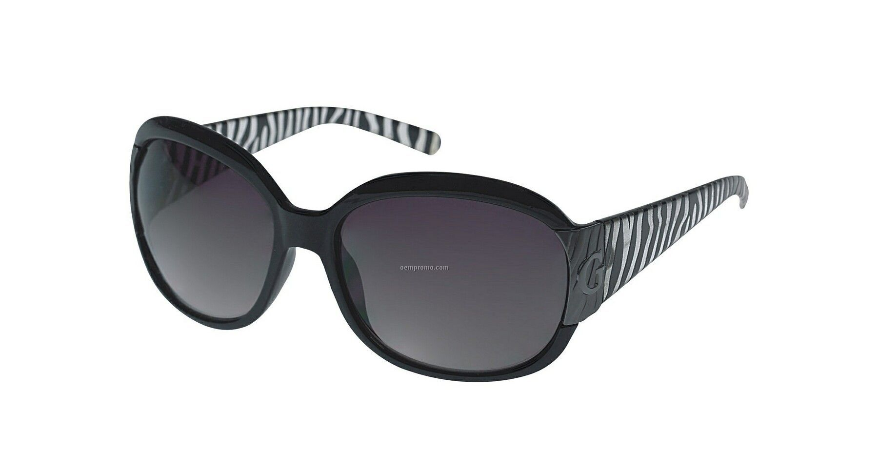 Sunglasses Logo Black And White Black Guess Gradient Ladies