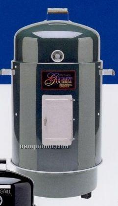 Brinkmann Premium Green Gourmet Charcoal Smoker & Grill W/ Cover