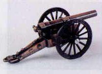 Military Bronze Metal Pencil Sharpener - Field Cannon