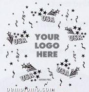 "11"" Usa Adwrap Jewel / Fashion Color Balloon"