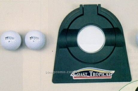 Adjustable Putting Cup W/ Golf Balls