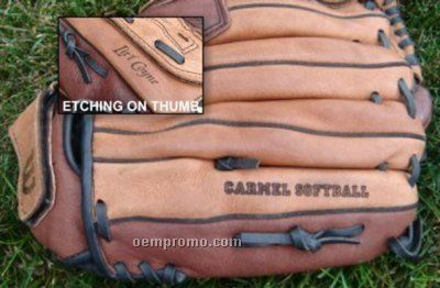 Custom Etched Leather Glove