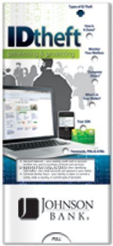 Identity Theft - Protecting & Preventing - Pocket Slider Chart/ Brochure
