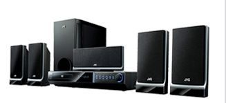 Jvc DVD Digital Theater System With 7 1/8 Subwoofer