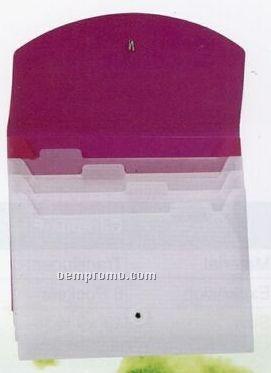 Purple Letter Size Waterfall File