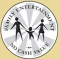 Stock Family Entertainment No Cash Value Token (882zbp Size)
