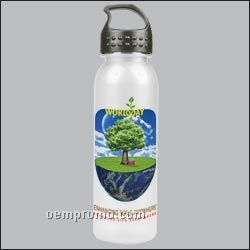 24oz Tritan Bottle W/Crest Lid (Digital Imprint)