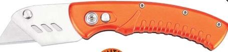 Maxam Folding Razor Knife W/ Aluminum Handle