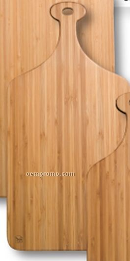 Medium Greenlite Bamboo Paddle Cutting Board