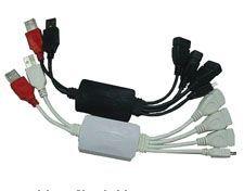Multi Cable 2.0 USB Hub