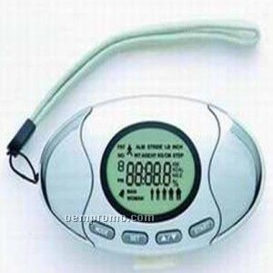 Pedometer W/Fat Analyzer