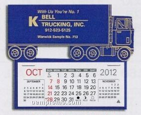 Semi Truck Easy Stick Calendar (By 05/01/11)