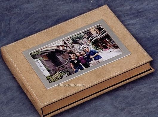 "Suede Photo Album (6""X4"")"