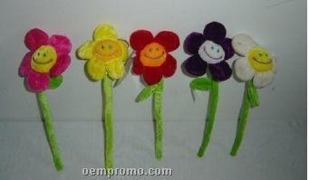 Custom Made Soft Plush Flowers