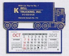Semi Truck Easy Stick Calendar (After 05/01/11)