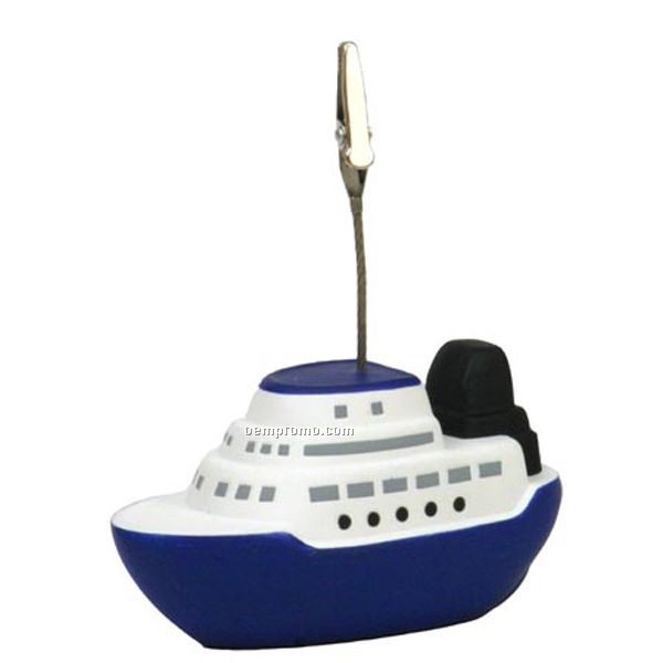 Cruise Boat Stress Reliever Memo Holder
