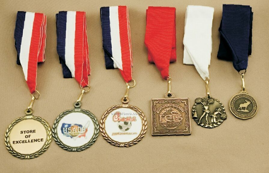 "Outdoor Sports 2"" Insert Medals (2-1/2"" Round)"
