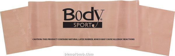 """Body Sport 6' X 5"""" Exercise Band, Extra Light"""