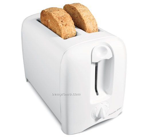 Hamilton Beach 2 Slice, Cool Wall Toaster, White