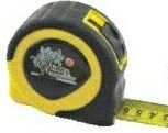 Retractable English/Metric Power Tape Measure - Dome Label (25' Blade)