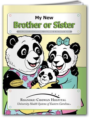 Fun Pack Coloring Book W/ Crayons - My New Brother Or Sister