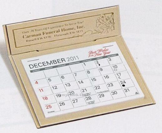 The Versailles Warwick Premier Desk Calendar (After April)