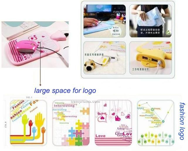 USB Mouse Pad W/Warmer