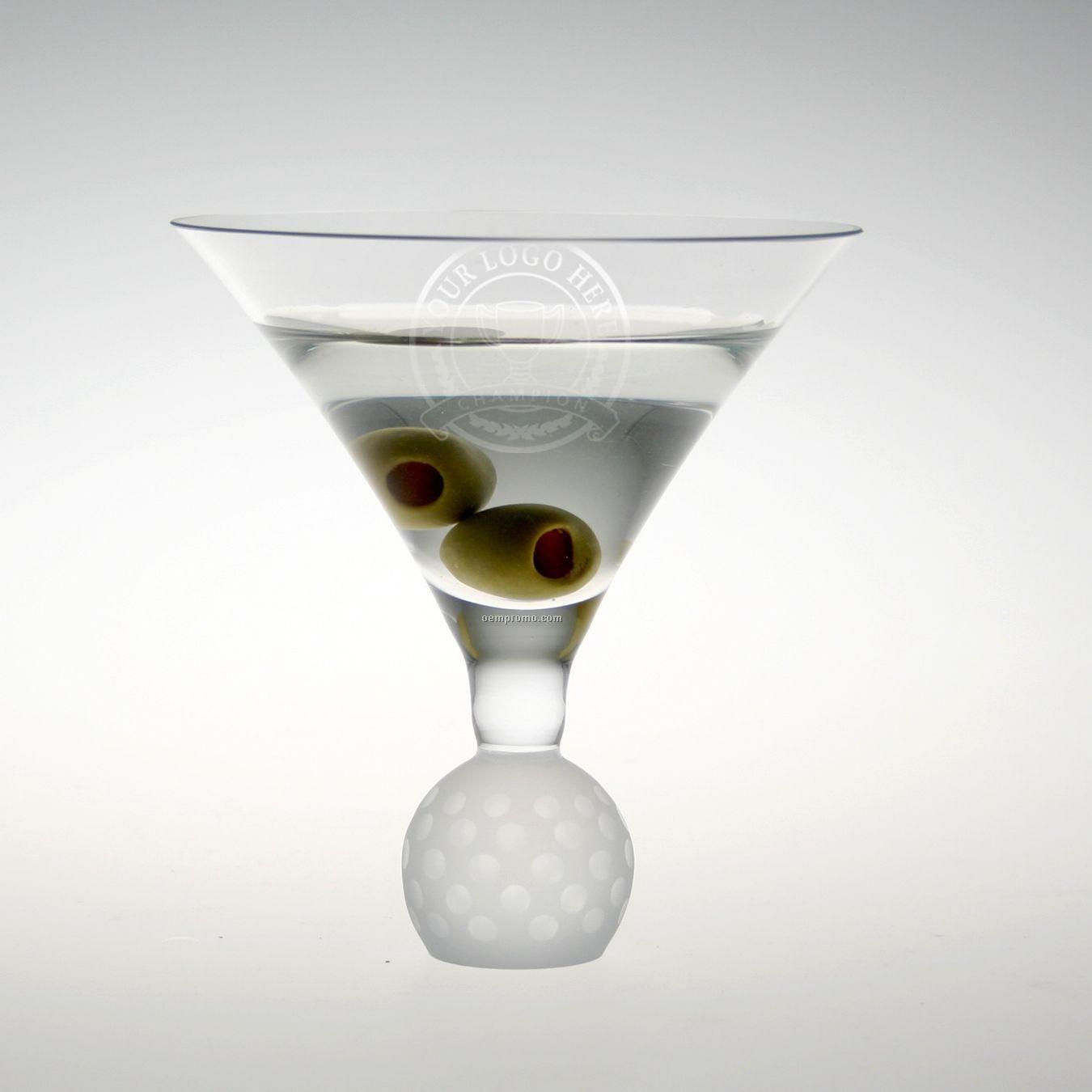 7 Oz. Fairway Cosmopolitan Martini Glass - Set Of 4