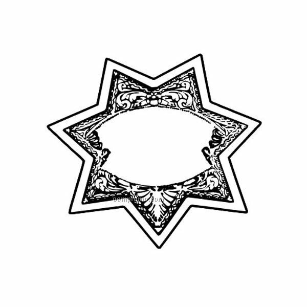Stock Shape Deputy Star Recycled Magnet