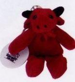 Bull Stuffed Animal / Keychain