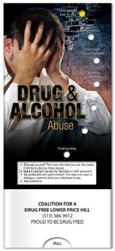 Drug & Alcohol Abuse - Pocket Slider Chart/ Brochure