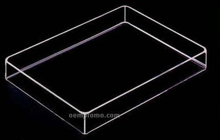 Acrylic Rectangle Tray (12