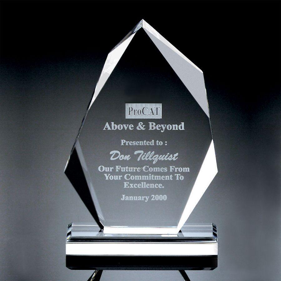 Heavy Faceted Arrowhead Award
