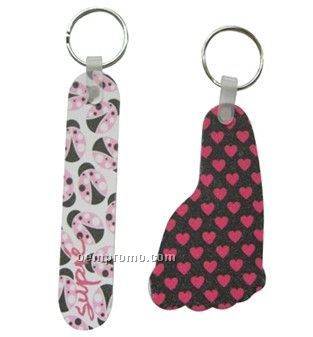Nail File Key Chain